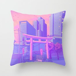 Roppongi Light Throw Pillow