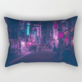 Akihabara backstreets Rectangular Pillow