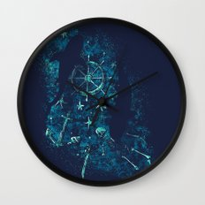 For all the Gold Under the Stars Wall Clock