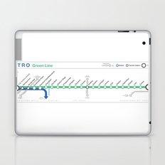 Twin Cities METRO Green Line Map Laptop & iPad Skin