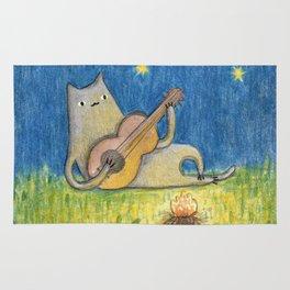Campfire Cat Rug