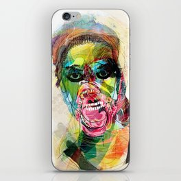 The human beast iPhone Skin