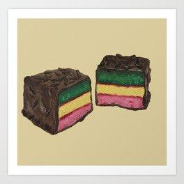 Marzipan Cookies Art Print