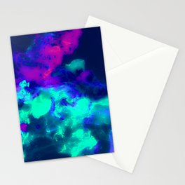 Glowing Grapes - Fruity Ink Fluid Stationery Cards
