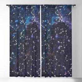 Sky map Blackout Curtain