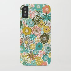February Floral iPhone X Slim Case