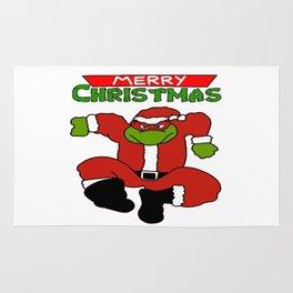 turtles christmas Rug