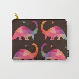 Geometric Dinosaurs Carry-All Pouch