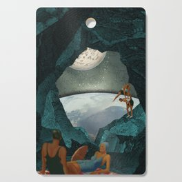 Space Spelunking Cutting Board