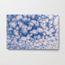 Cloud Pattern over Haines, Alaska by Mandy Ramsey Metal Print