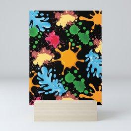 Splash of color Mini Art Print