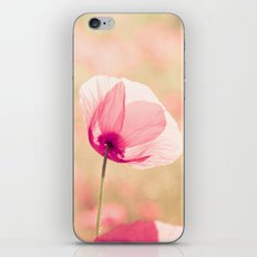 Heaven - poppy flowers photography iPhone & iPod Skin