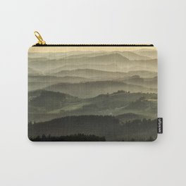 Lazy afternoon in Beskidy Carry-All Pouch