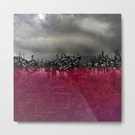 Hunted Metal Print