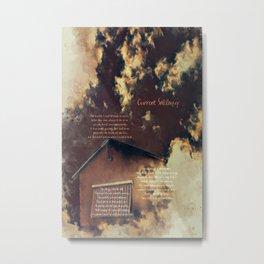 Current Soliloquy Metal Print