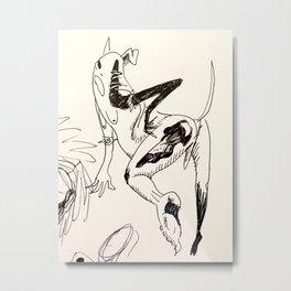 Mutt  Metal Print