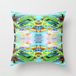 UNDERWATER MERMAID MAGIC Throw Pillow