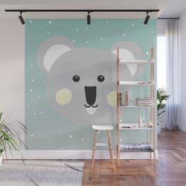 Cute Drop Bear Wall Mural