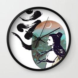 Shiva Mood Rise Wall Clock