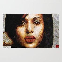 Portrait of Kerry Washington Rug