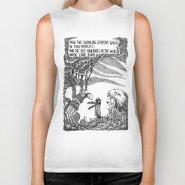 William Blake Illustration Biker Tank