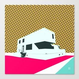 Bauhaus Meisterhaus Pop 2 Canvas Print