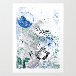 Scissorhands Art Print