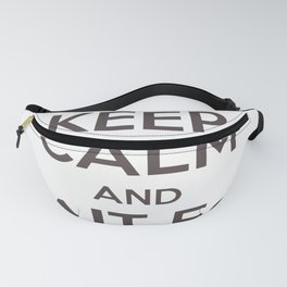 Keep Calm And Wait For The Stork Baby Delivery Fanny Pack
