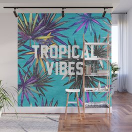 Tropical Vibes Wall Mural