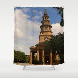 St. Philip's Church Charleston Shower Curtain