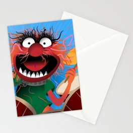 Animal Muppets' Drummer Stationery Cards