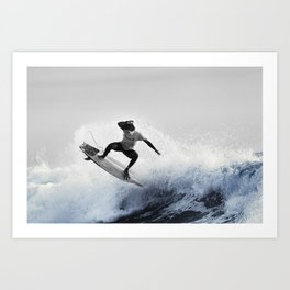 Surfing Costa Rica (180220-7272) Art Print