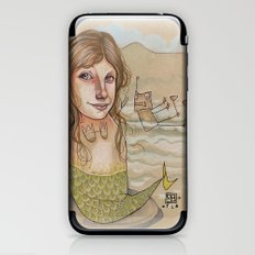 ROBOT SIREN iPhone & iPod Skin
