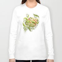bugs Long Sleeve T-shirts featuring Bed Bugs by Charity Ryan