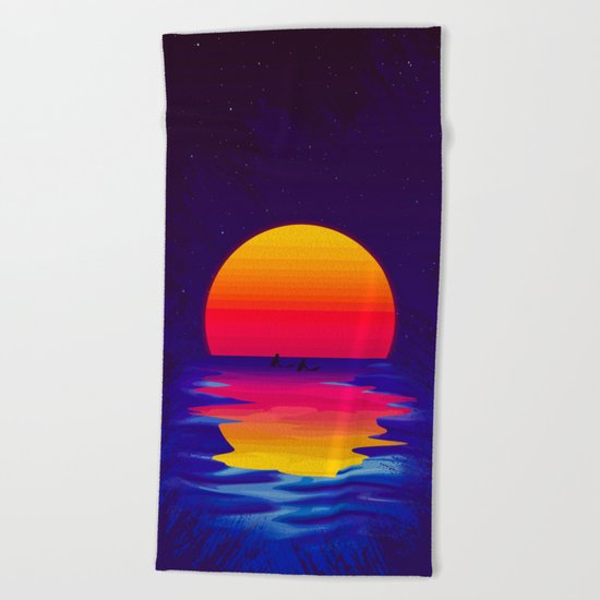 Ocean Dreams Beach Towel