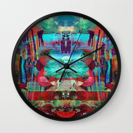 If Jodorowsky Took Acid Wall Clock