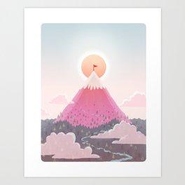 Mt. Magic Art Print