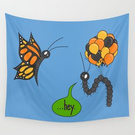 A Bug Ahead of Its Time Wall Tapestry