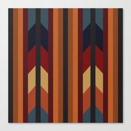 American Native Pattern No. 168 Canvas Print