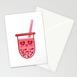 Boba Love Tea Stationery Cards