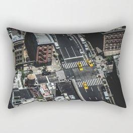 Little Yellow Cabs Rectangular Pillow
