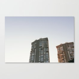 Benidorm Apartments Canvas Print