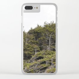 Standing Strong Clear iPhone Case