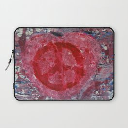 Peaceful Heart Laptop Sleeve