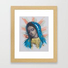 Mi Morenita Framed Art Print