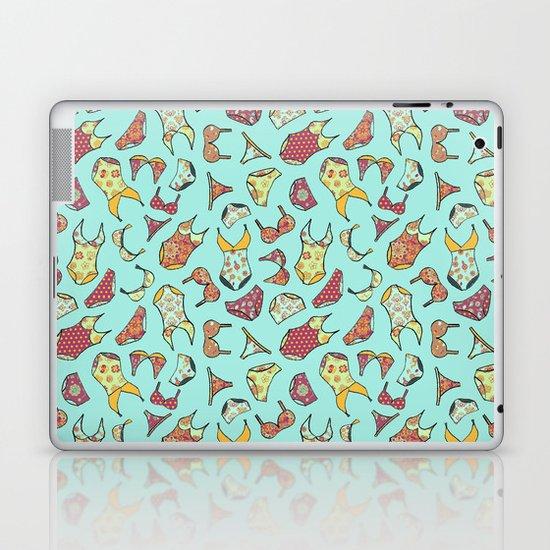 UNDERWEAR LOVE: Little Luxuries in Mint Laptop & iPad Skin