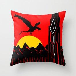 Ark Survival Evolved Poster Throw Pillow