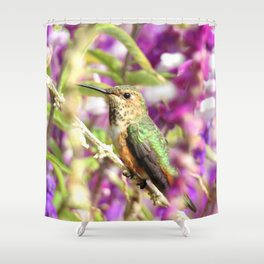 Lady Allen's Shower Curtain