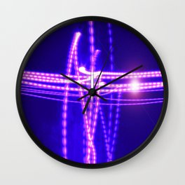 I Am the Light of the World, the Truth Shall Make You Free Wall Clock