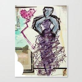 The Unfair Affair Canvas Print